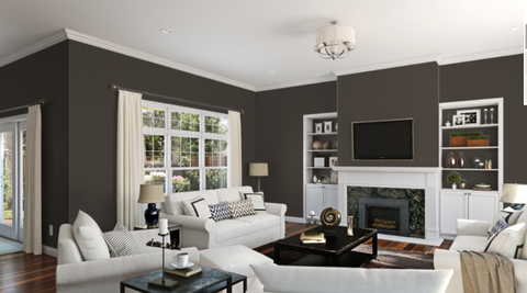 sherwin williams black fox room laura of pembroke