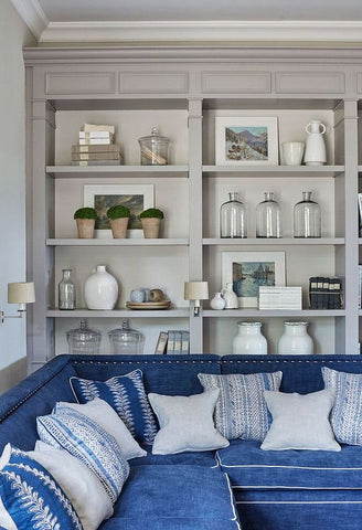 bookcase styling laura of pembroke