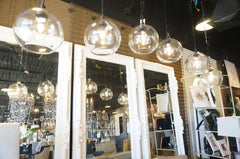 globe pendant chandelier laura of pembroke lighting