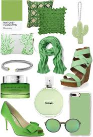 greenery accessories color of the year