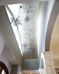 Star Pendant chandelier laura of pembroke lighting