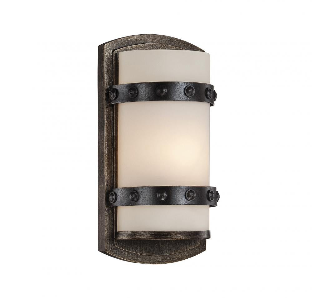 Reclaimed Wood 1 Light Sconce, Lighting, Laura of Pembroke