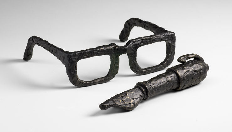 Spectacles and Pen Sculptures