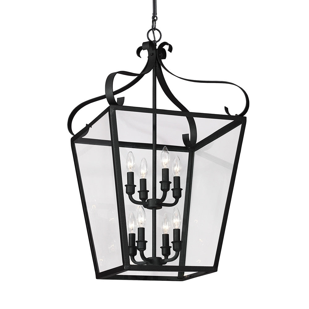8 Light Lantern Pendant, Lighting, Laura of Pembroke