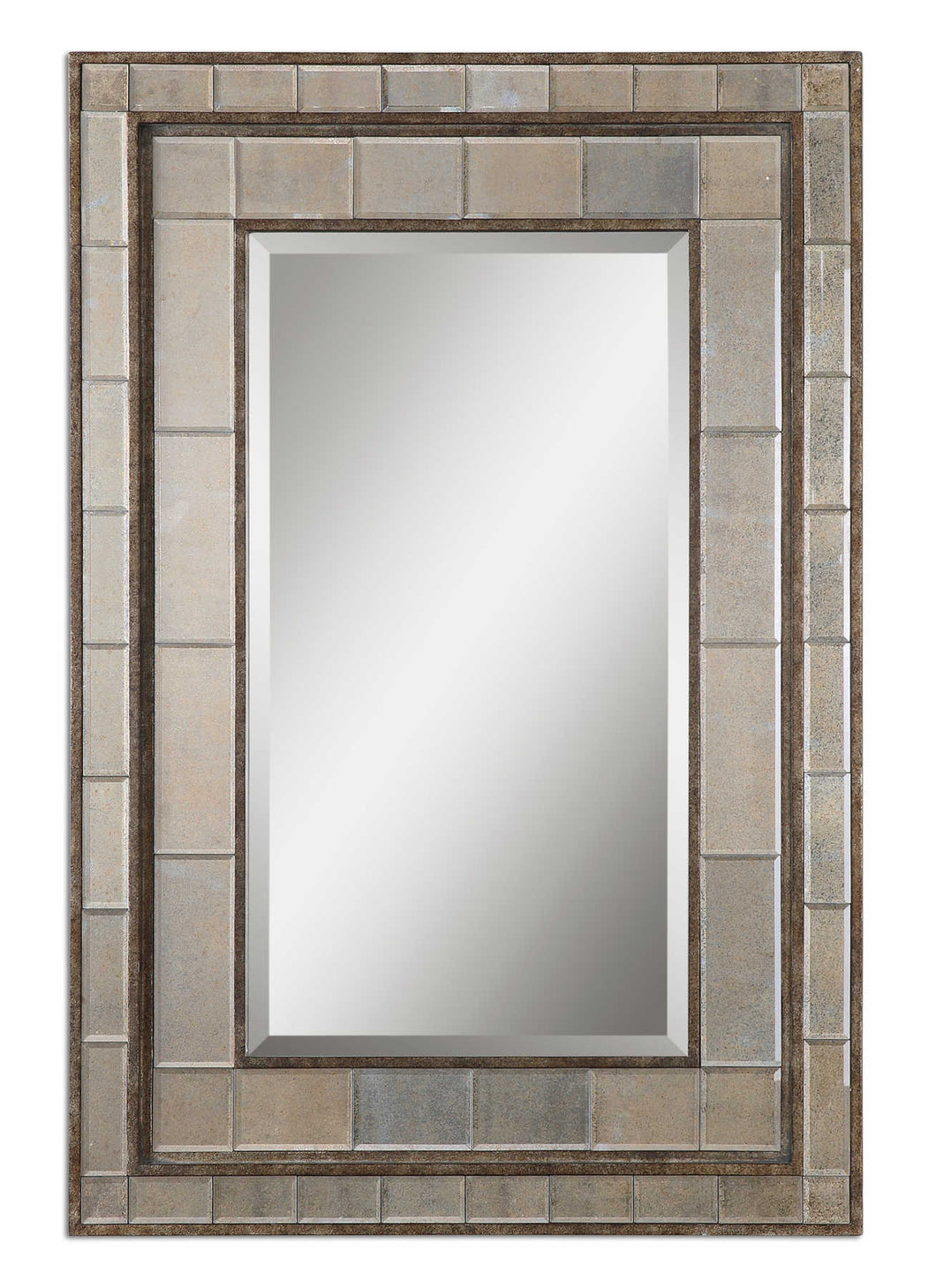 Almont Bronze Mosaic Mirror, Mirrors, Laura of Pembroke