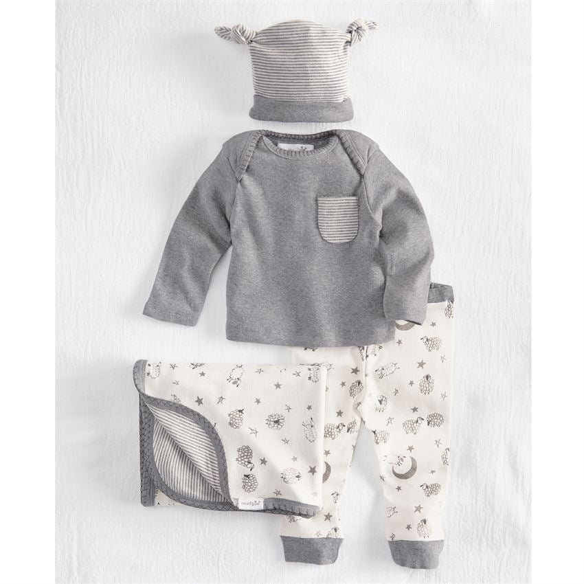 4 Piece Counting Sheep Gift Set, Baby, Mud Pie, Laura of Pembroke