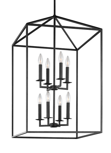 Blacksmith Finish 8 Light Chandelier