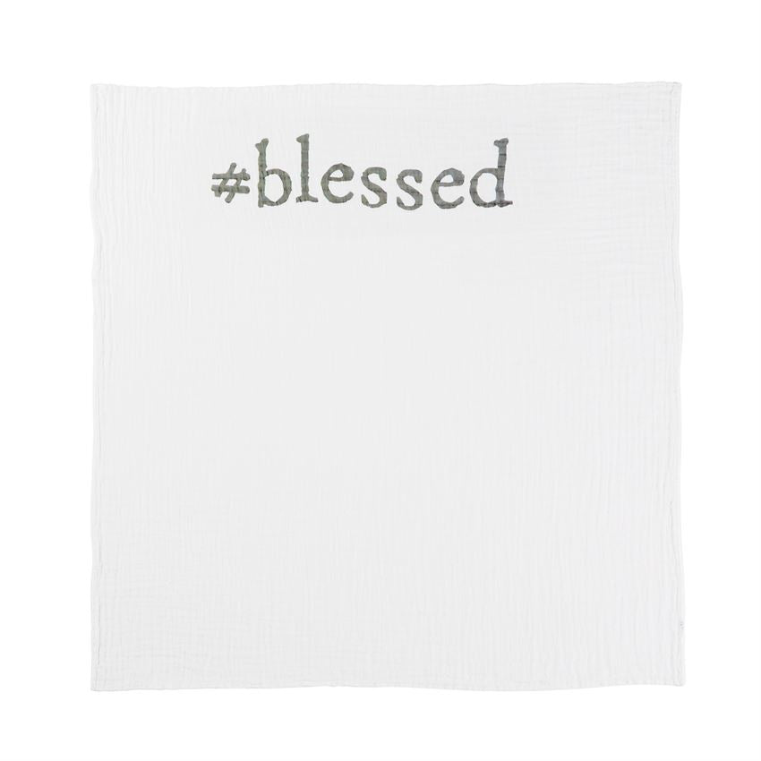 Blessed Announcement Blanket, Baby, Mud Pie, Laura of Pembroke