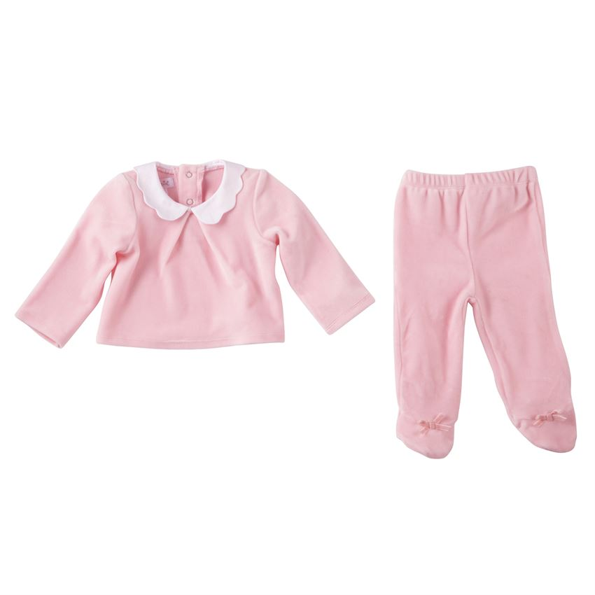 Velour Two Piece Set 3-6M, Baby, Mud Pie, Laura of Pembroke