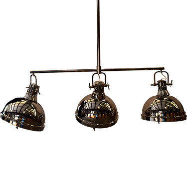 Steel Hanging Pendant, Lighting, Laura of Pembroke