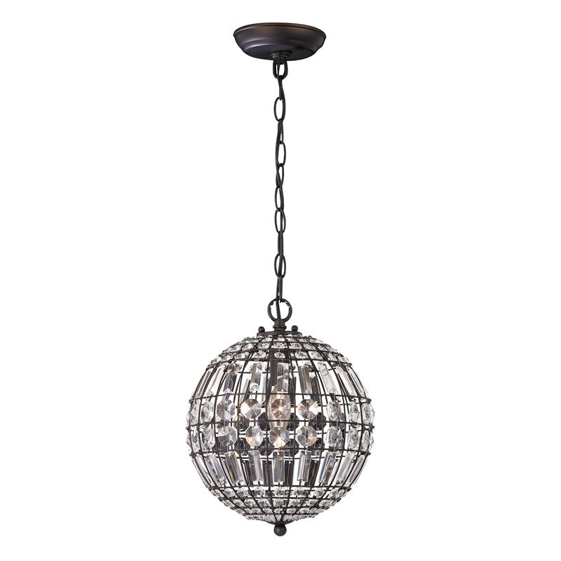 Round Crystal Mini Pendant, Lighting, Laura of Pembroke