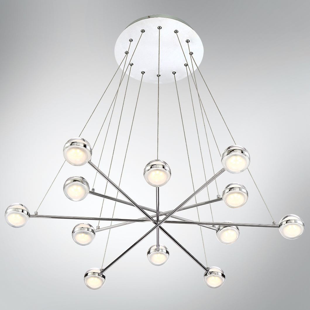 12 Light Chandelier, Lighting, Laura of Pembroke