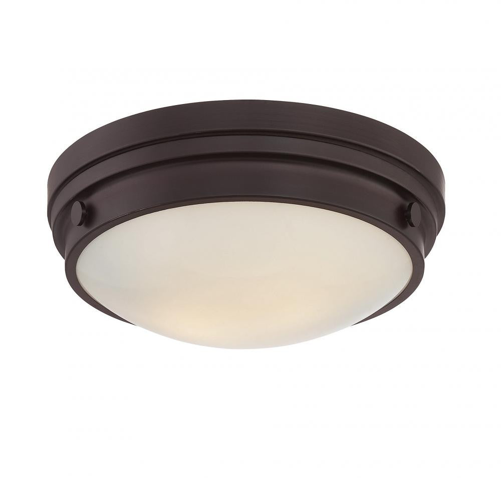 English Bronze Flush Mount, Lighting, Laura of Pembroke