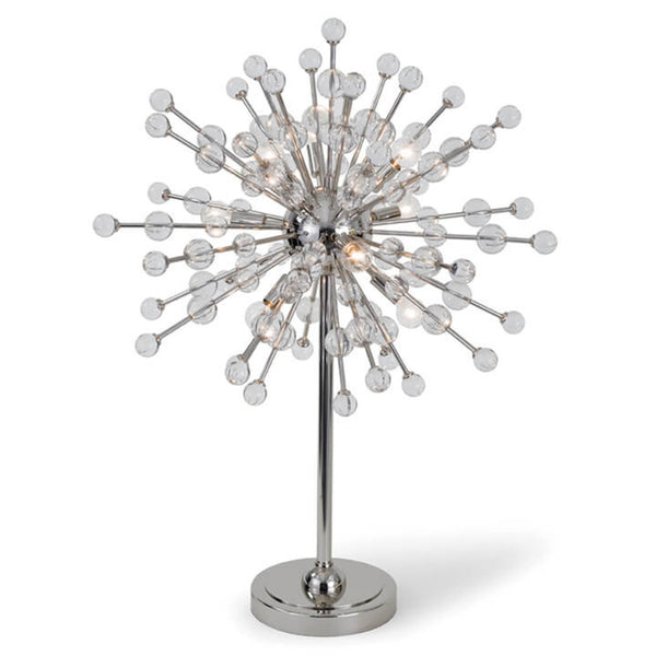 Polished Nickel Constellation Table Lamp