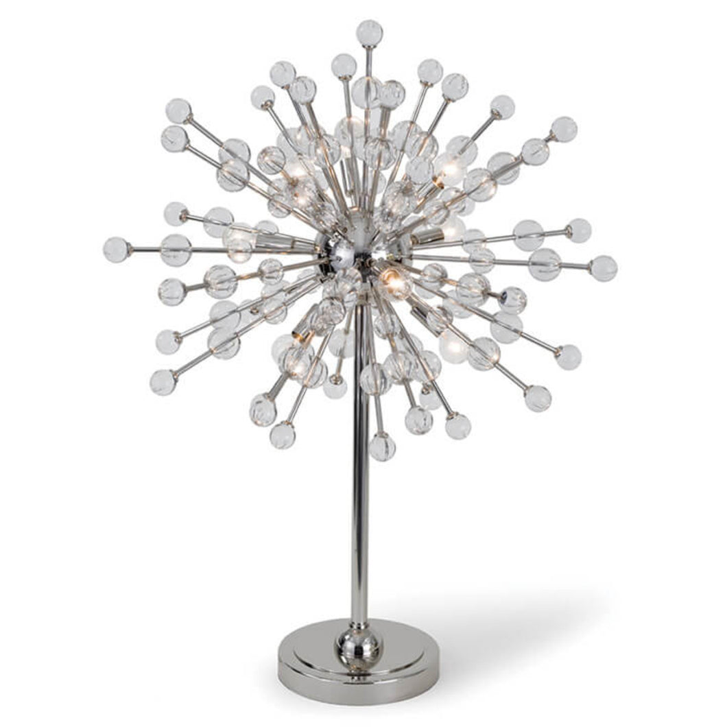 Polished Nickel Constellation Table Lamp, Home Accessories, Laura of Pembroke