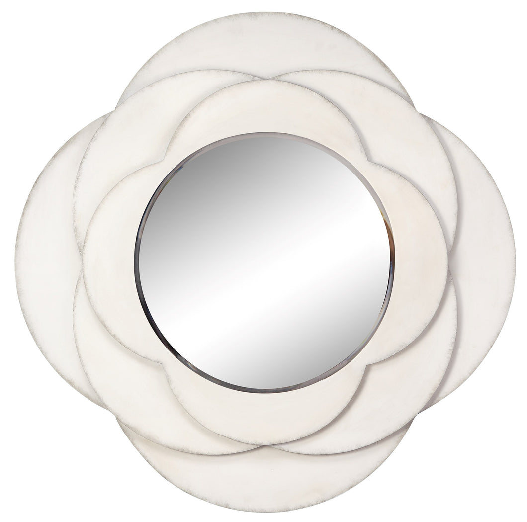 White Flower Wall Mirror, Home Accessories, Laura of Pembroke