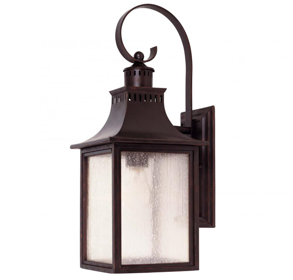 English Bronze Traditional Outdoor 1 Light Wall Sconce, Lighting, Laura of Pembroke