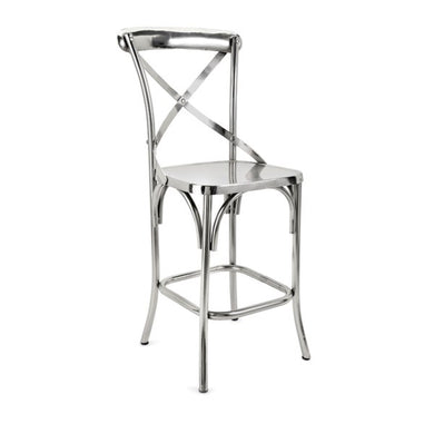 Metal Barstool, Home Furnishings, Laura of Pembroke
