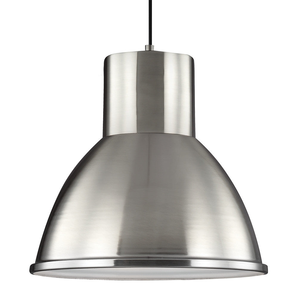 Brushed Chrome Pendant, Lighting, Laura of Pembroke