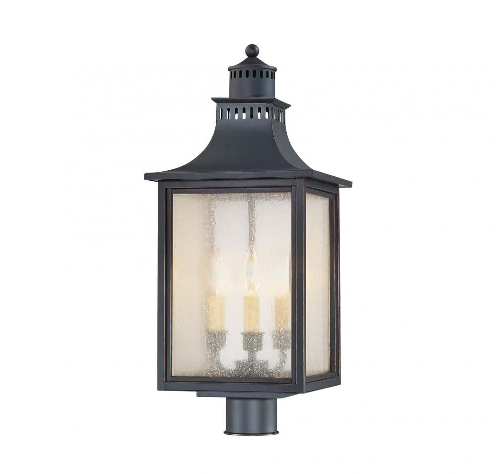 Slate Traditional Outdoor Post Light, Lighting, Laura of Pembroke