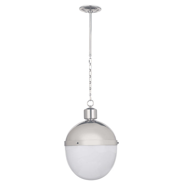 Polished Nickel Large Otis Pendant