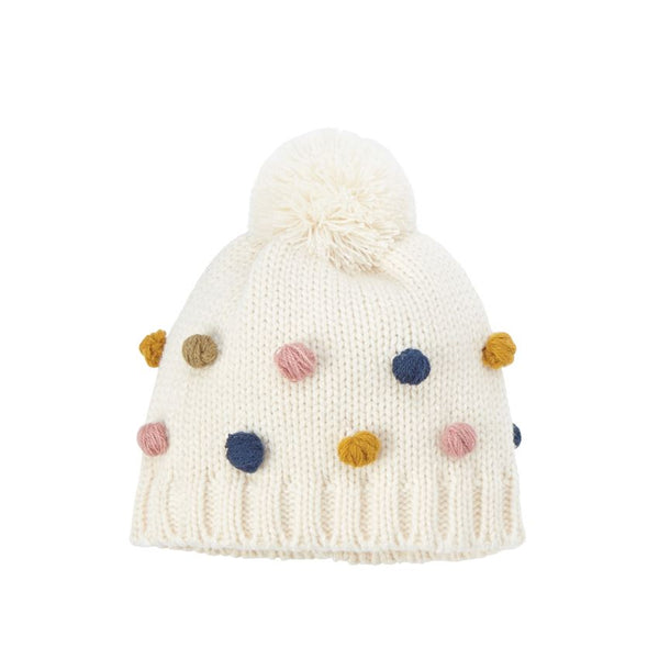 Popcorn Knit Hat In