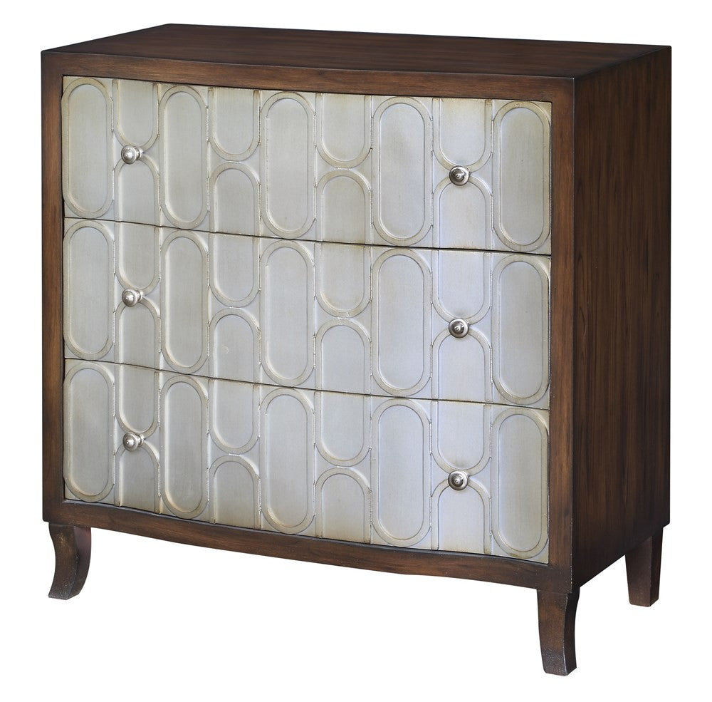 Antique Gold and Wood Chest, Home Furnishings, Laura of Pembroke