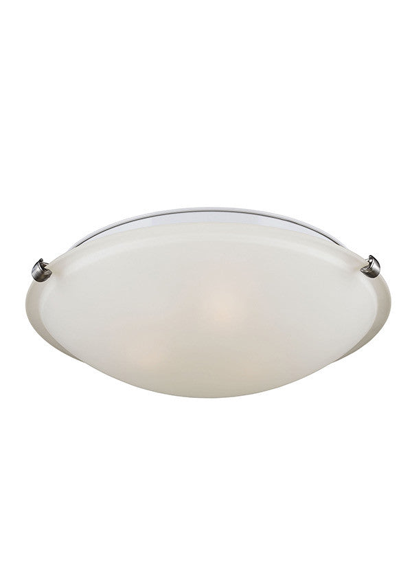 3 Light Ceiling Flush Mount, Lighting, Laura of Pembroke