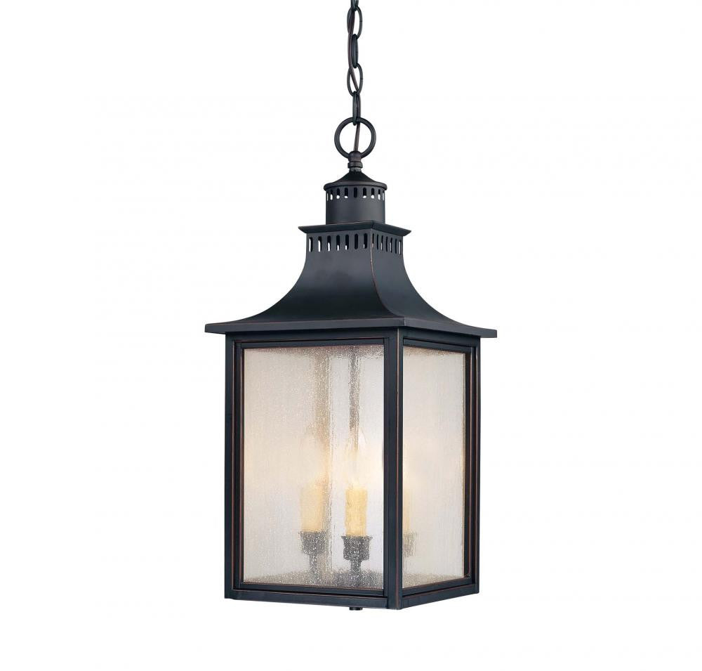 Slate Traditional Outdoor Hanging Lantern, Lighting, Laura of Pembroke
