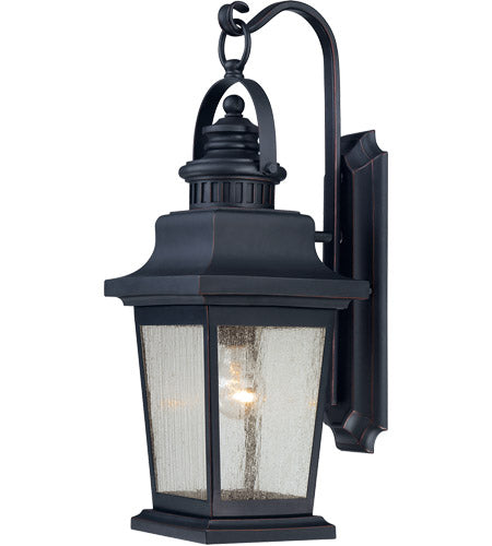1 Light 23 inch Slate Outdoor Wall Lantern