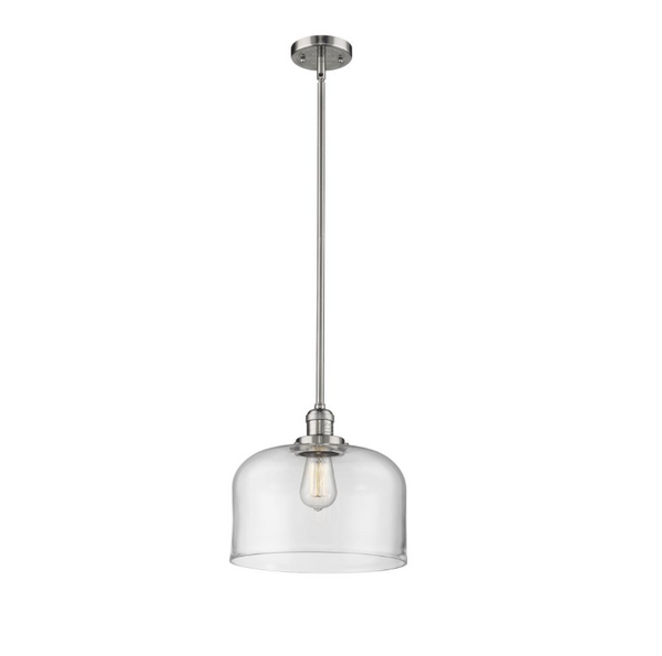 1 Light X-Large Bell 12 inch Pendant