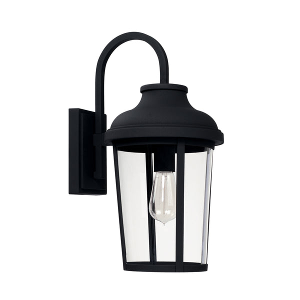 Dunbar Black 1 Light Outdoor Wall Lantern