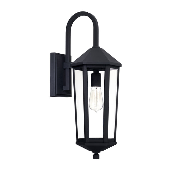 Ellsworth Black 1 Light Outdoor Wall Lantern