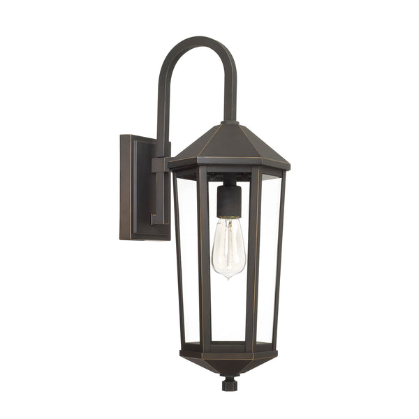 Ellsworth Oil Rubbed Bronze 1 Light Outdoor Wall Lantern