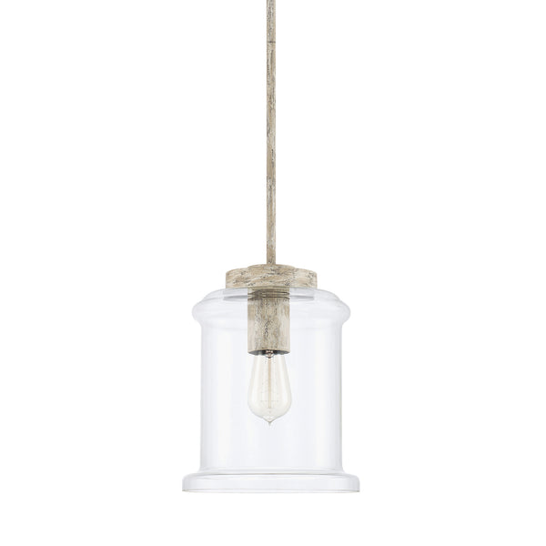 Kayla Mystic Sand Coastal 1 Light Pendant