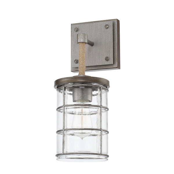 Colby Urban Grey 1 Light Sconce