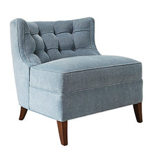 Tufted Slipper Chair, Home Furnishings, Laura of Pembroke