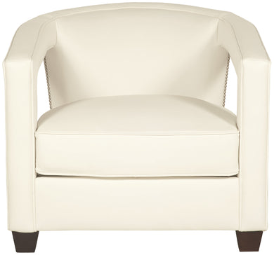 Nailhead Open Arm Chair, Home Furnishings, Laura of Pembroke