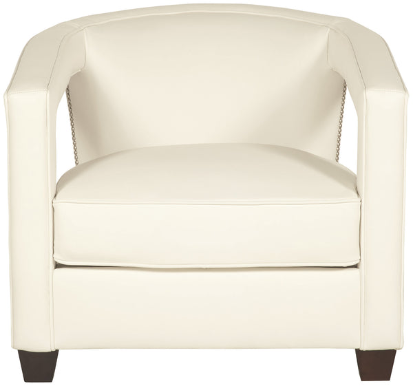 Nailhead Open Arm Chair