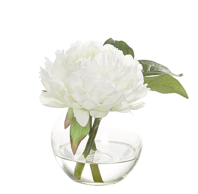 Peony with Vase, Home Accessories, Laura of Pembroke