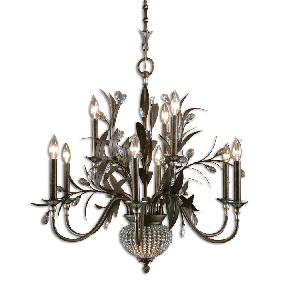 Crystal Beaded Chandelier, Lighting, Laura of Pembroke
