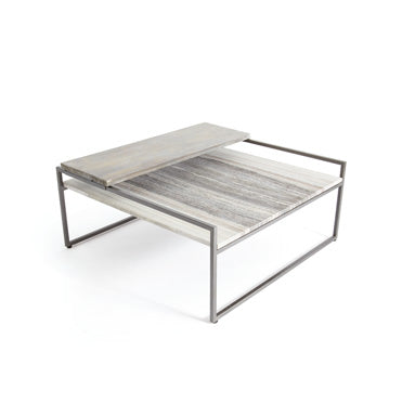 Sliding Top Coffee Table