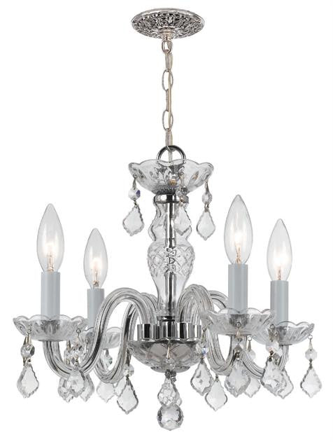 Crystal Mini Chandelier, Lighting, Laura of Pembroke