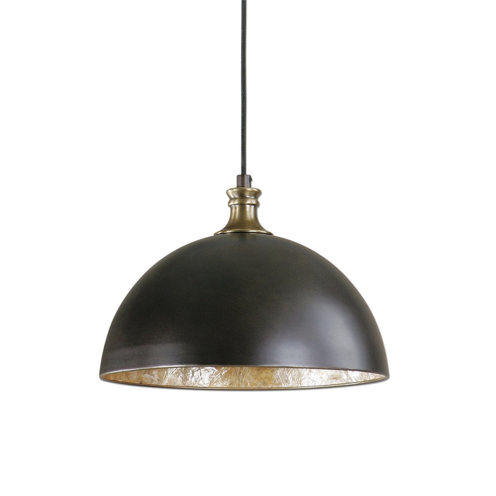 Metal Dome Pendant, Lighting, Laura of Pembroke