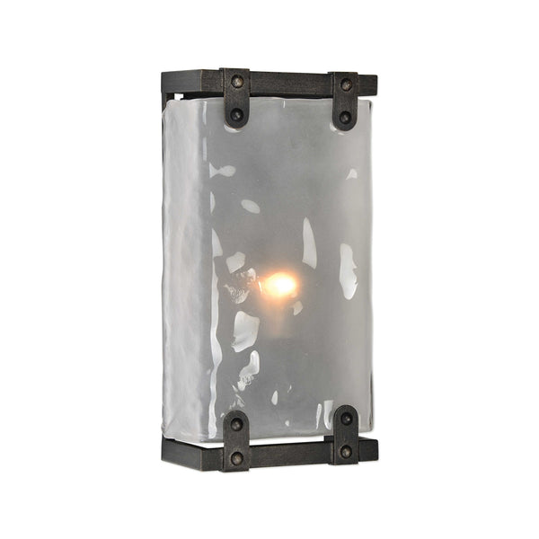 Bold Rivets One Light Sconce