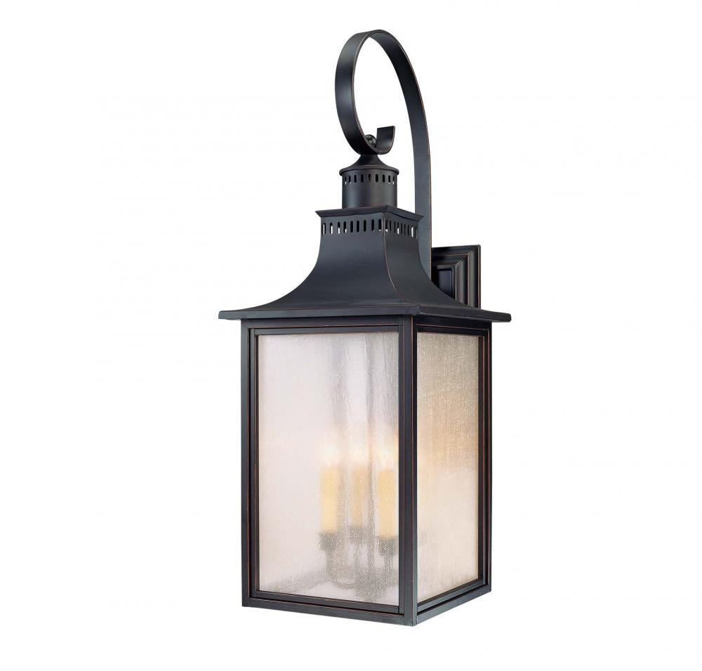 Slate Traditional Outdoor 4 Light Wall Sconce, Lighting, Laura of Pembroke