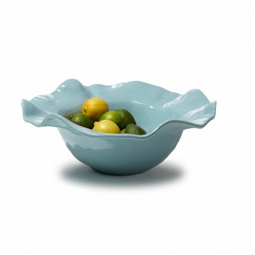 Melamine Havana Large Bowl-Blue
