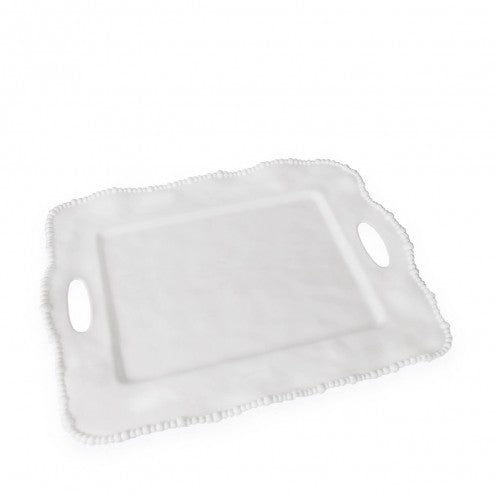 Alegria Rectangle Tray, White, Gifts, Beatriz Ball, Laura of Pembroke