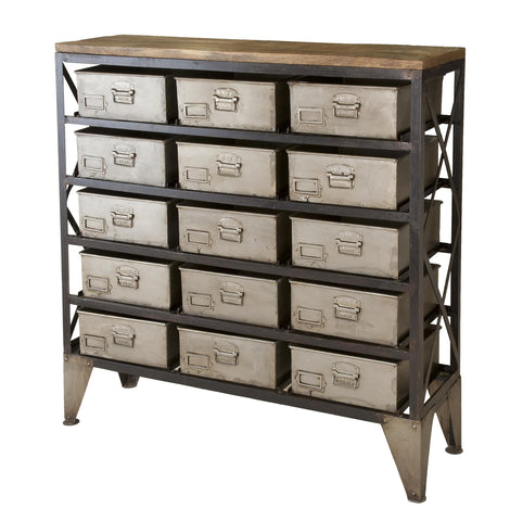 15 Drawer Industrial Unit