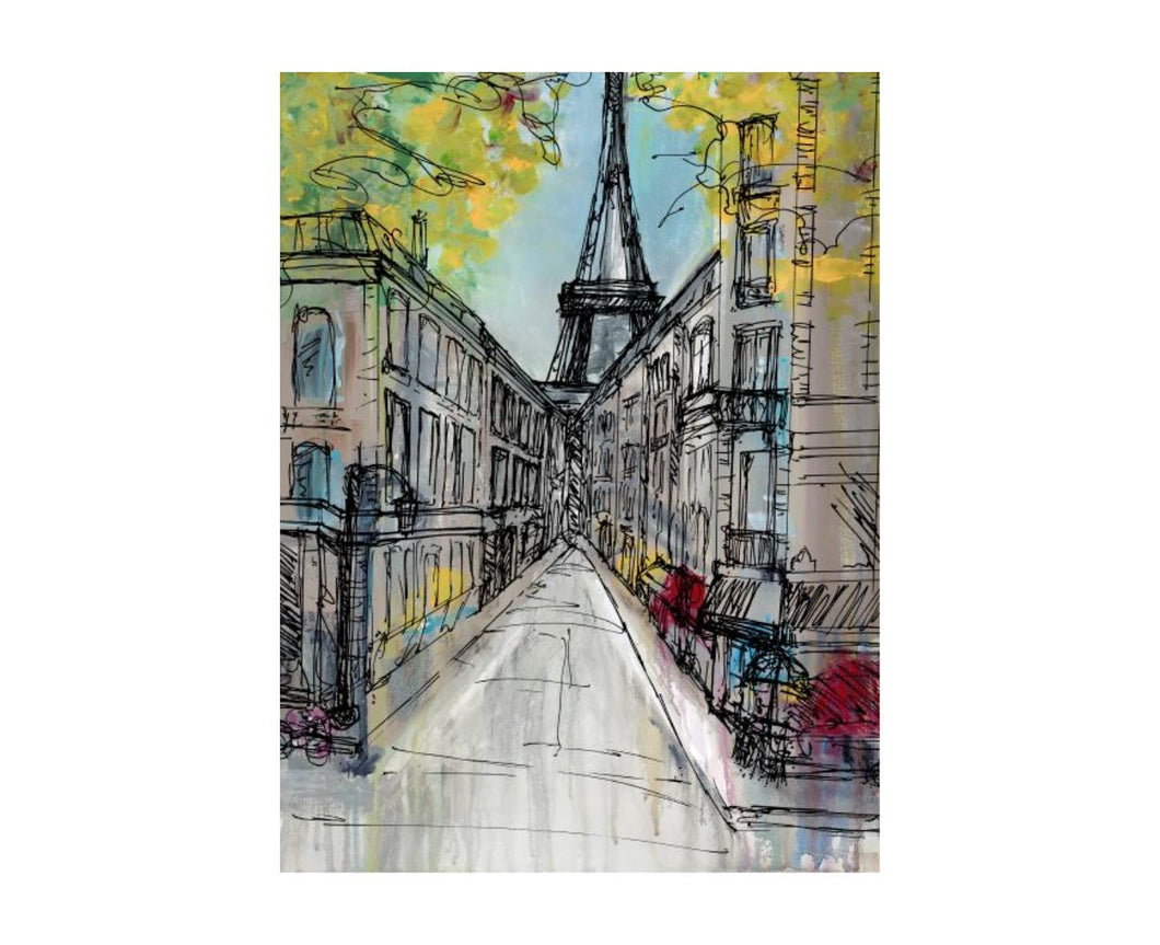 Enscene Paris Painting